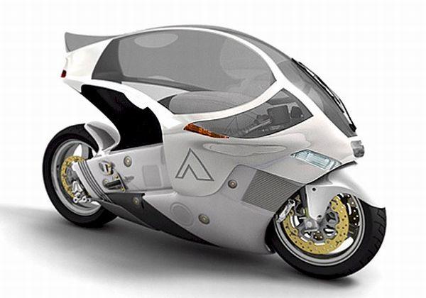 Conceito criado por Phil Pauley para proteção do motociclista