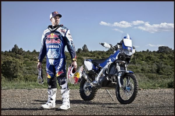 Cyril Despres agora é piloto oficial da equipe Yamaha Racing France