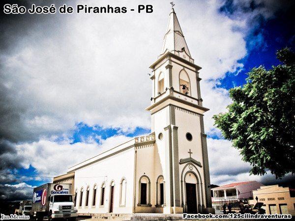 Igreja Matriz de São José de Piranhas, de uma beleza simples como a vida da população