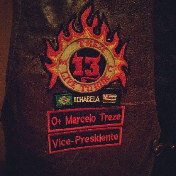 O patch do motoclube: orgulho