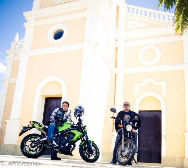 Luís Sucupira e Jan Messias. Igreja de São Vicente, Mossoró(RN)