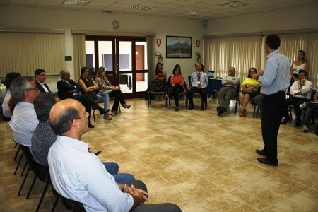 Reunião do Projeto Estrada Sustentável