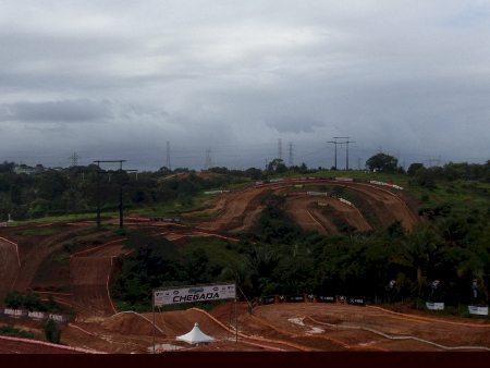 O mau tempo conspira contra a 5ª Etapa do Brasileiro de Motocross