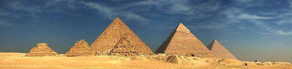 A aventura termina das Pirâmides de Guiza, após 9 dias de viagem