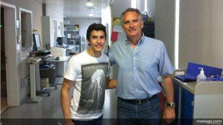 Marc Márques e o Dr. Mir; tudo bem com o piloto