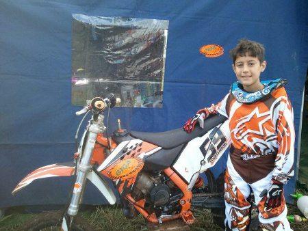 Matheus Favero será o Brasil no Campeonato Mundial Júnior de Motocross 2013