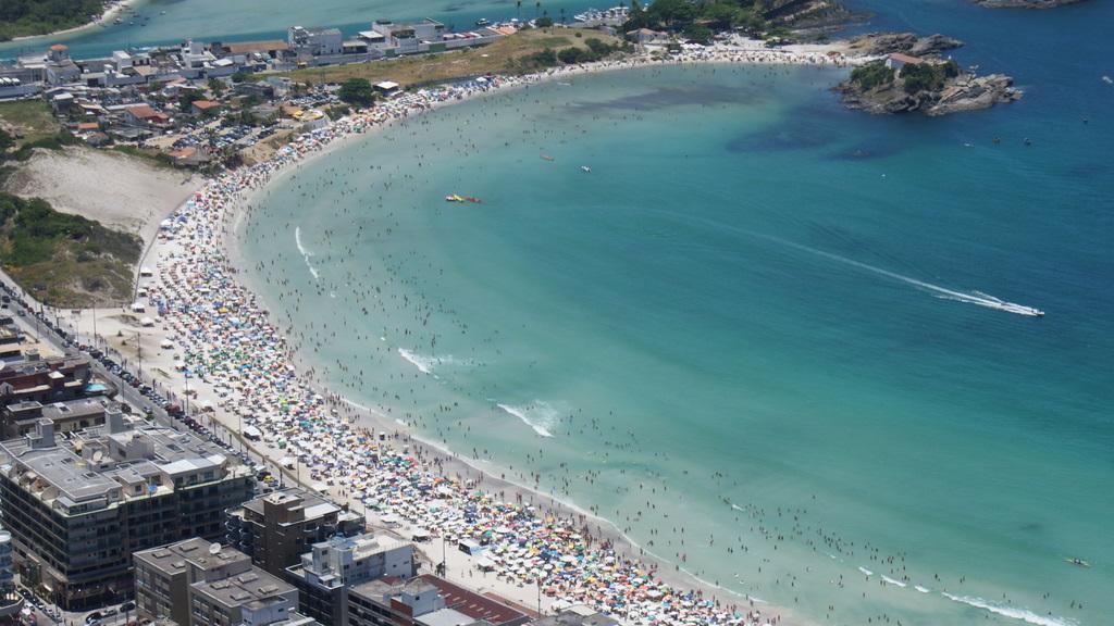 As praias do Forte (foto), das Conchas e do Peró estão no roteiro dos motociclistas que forem ao Bikerfest Tubarões