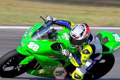 Sabrina Paiuta faturou a Copa Kawasaki Ninja 300cc Pro