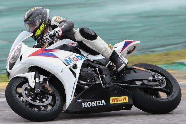 José Luiz Teixeira, Cachorrão, piloto da Equipe Honda Mobil de Motovelocidade na categoria SuperBike Pro no SuperBike Series Brasil 2013