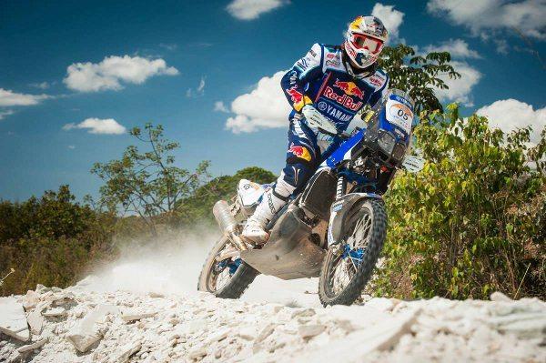 """Cyril Despres avisou: """"Resolvi poupar pneus para amanhã andar forte"""" - foto de Eric Schroeder / Dunas Race"""