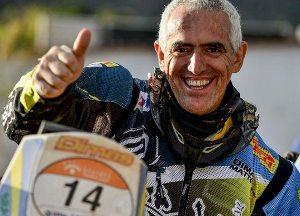 O piloto Dimas Matos sofre acidente mas passa bem - crédito: Renato Aranda/Webventure
