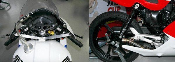 Poucas alterações nas motos, que mantém mecânica original