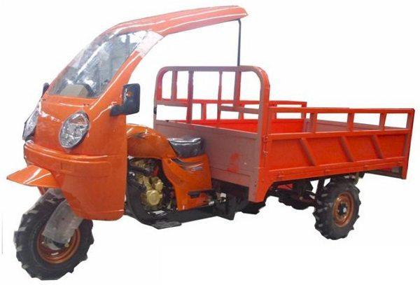 Tricíclo de carga para uso off-road em sítios e fazendas