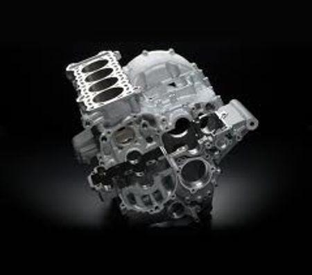 Motor derivado da GSX 750 R tem modificações para melhor dirigibilidade em condições variadas
