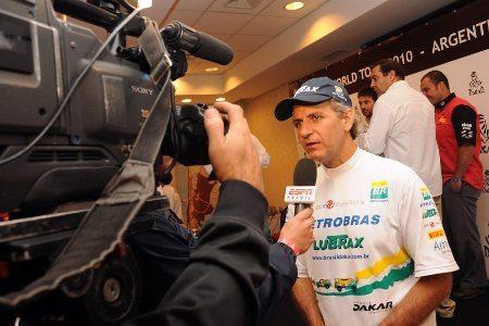 Após 16 anos, André Azevedo vai ao Enduro da Independência a competir de moto - crédito: Luiz Pires/VipComm