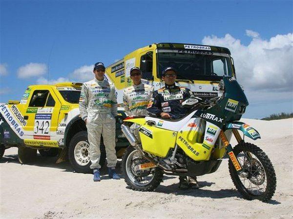 André Azevedo já participou do Rally Dakar, 10 vezes nas motos, 14 nos caminhões e uma nos carros - crédito: Donizetti Castilho