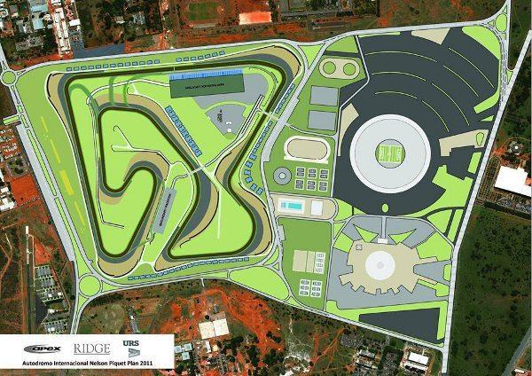 Projeto do novo Autódromo de Brasília que será apresentado à FIM em Silverstone