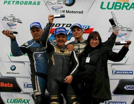 Na GP Máster subiram no pódio Sidnei Scigliano, Victor Braga e Othon Russo