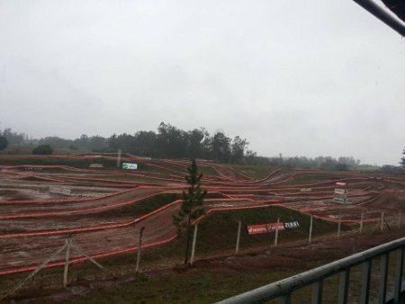 Chuvas constantes adiam a etapa de Venâncio do Gaúcho de Motocross
