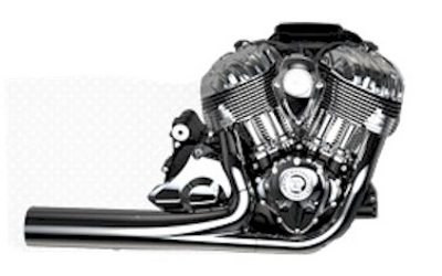 As motocicletas Indian têm motor V2 de 1.800cc