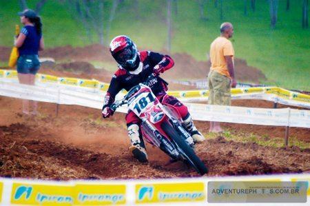 Kurt Rudolf disputa o Goiano de Motocross