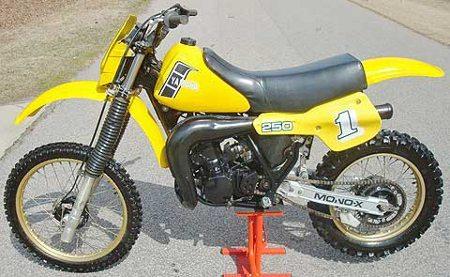 Yamaha Y 250, concorrente da Montesa em meados de 1982