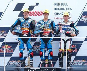 Márquez, Rins e Viñales no pódio de Indianapolis