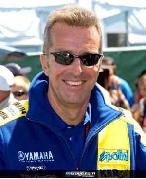 Hervé Poncharal, diretor esportivo da Yamaha Monster Tech 3