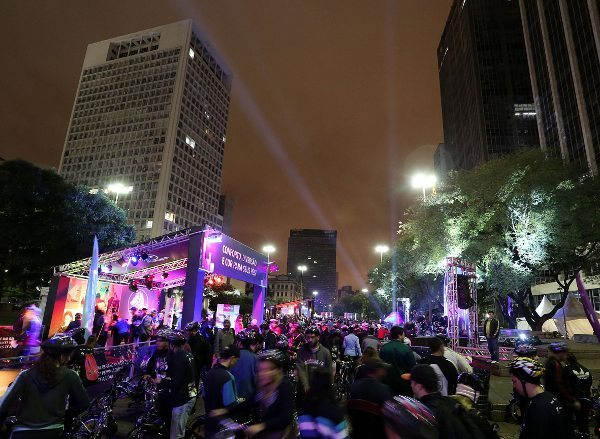 1º Night Riders agitou o centro histórico de São Paulo