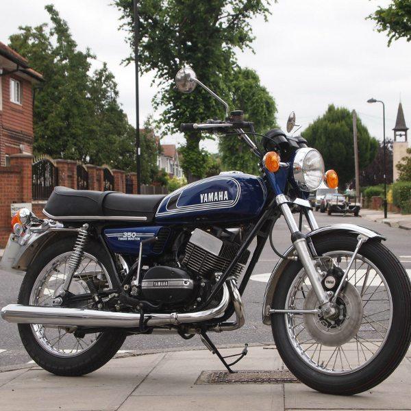 Para os saudosistas essa moto é uma verdadeira preciosidade