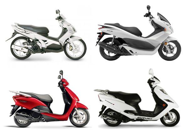 Quatro scooters com mesma proposta competem pela liderança