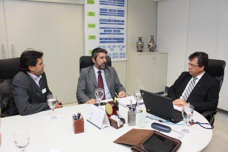 Reunião da CBM com a Receita Federal em Brasília