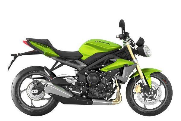 Verde (Cosmic Green) é a nova cor oferecida para as Triumph Street Triple 675