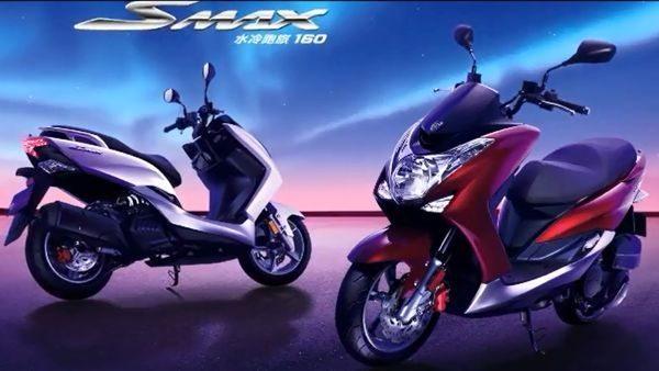 O scooter da Yamaha com 160cc