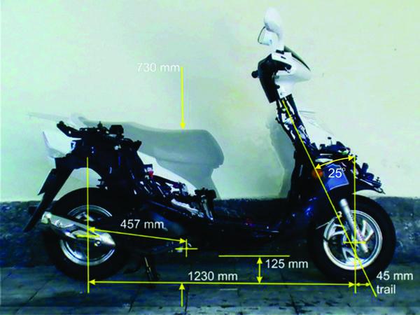 O mais nervoso de ciclística, tem menor distância entre eixos, trail e rake de pouca dimensão, resulta em muita manobrabilidade em baixa velocidade mas instável em alta
