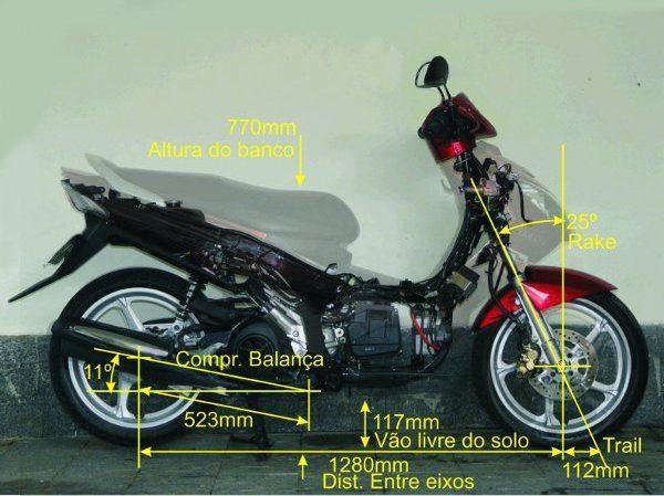 A geometria da Neo também está num meio termo mas as rodas maiores e o longo trail permitem velocidades maiores com estabilidade