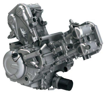 O motor tem novos componentes no cabeçote, resultado: Maior eficiência que resultou em maior economia de combustível também