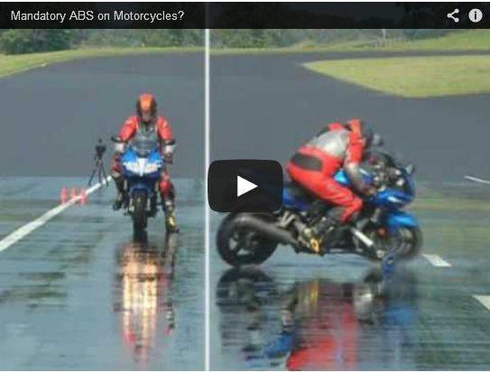Video - ABS funciona, a prova