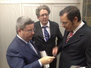 Flávio Bergmann agradece ao Governador de Minas Gerais, Antonio Anastasia, o apoio e empenho do Estado ao projeto