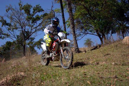 Noé de Oliveira, piloto de enduro de regularidade da Gas Gas Racing Team