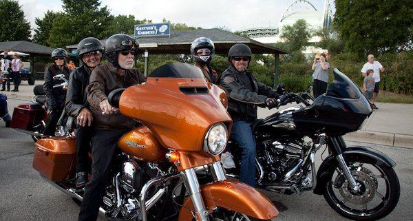 Celebração dos 110 anos da Harley-Davidson em Milwaukee