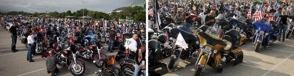 Estima-se em 7 mil motocicletas no desfile do último sábado (31/8)