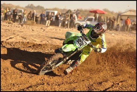 O brasileiro José Felipe lidera os campeonatos Argentino e Paraguaio de Motocross