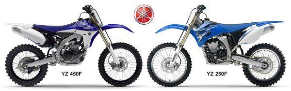 As motos que serão utilizadas pela equipe brasileira