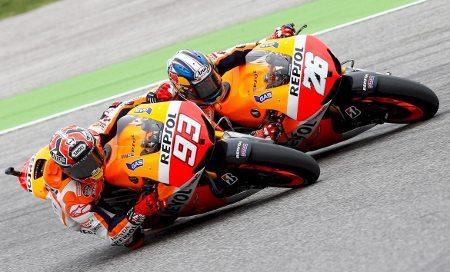 Márquez levou a melhor sobre Lorenzo em disputa eletrizante pela segunda colocação