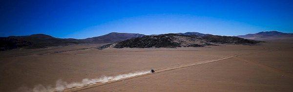 O Atacama Rally começou nesta quarta-feira - crédito: organiazação da competição
