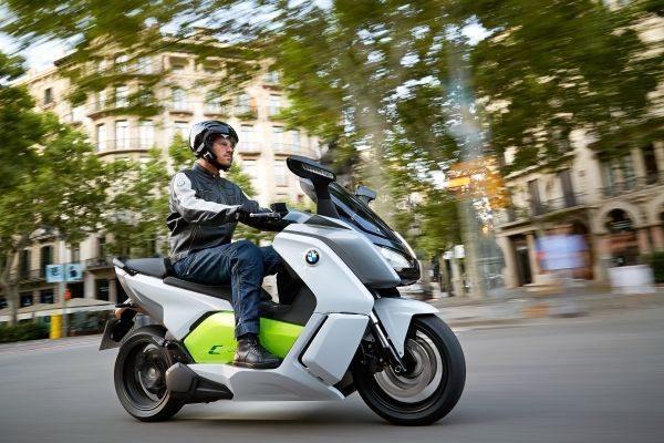 BMW C Evolution: ecológico
