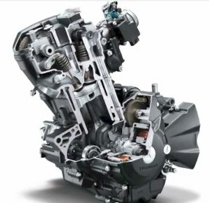 O motor, monocilíndrico