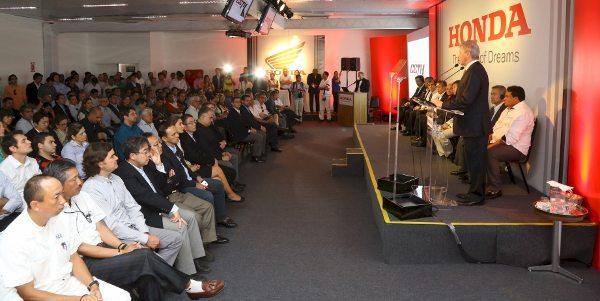 Inauguração do Centro Educacional de Trânsito da Honda (CETH) em Manaus (AM)