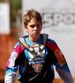 O jovem Enzo Lopes
